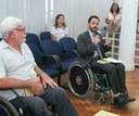 Acessibilidade e saúde levam comunidade à Câmara