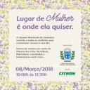 Câmara comemora Dia da Mulher