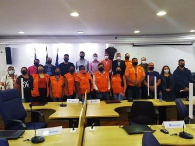 Câmara recebe audiência pública da Defesa Civil
