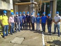 Comissão de saúde e saneamento apura denúncias sobre lançamento de esgoto no Rio Itapemirim