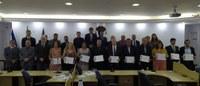 Diretoria da ASCOSUL recebe homenagem pelo Dia do Contador