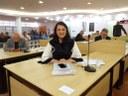 Vereadora  participa de evento sobre câncer de mama em SP
