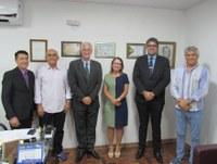 Visita da Presidente e Membros do Crea-ES à Câmara